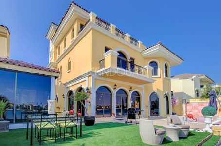 5 Bedroom Villa for Sale in Palm Jumeirah, Dubai - 3 Floors Premium Villa | Atrium Entry| Private Gym