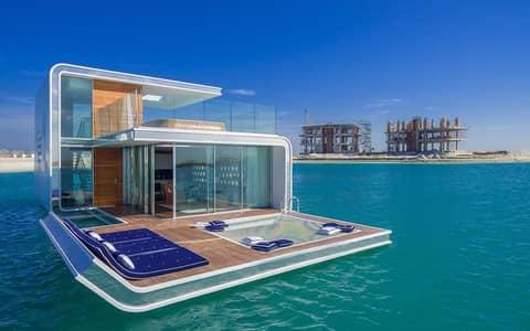 فیلا 3 غرفة نوم للبيع في جزر العالم، دبي - AVAIL NOW ! A FULLY FURNISHED FLOATING SEAHORSE VILLA  | AMAZING DUBAI VIEW.