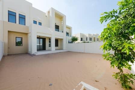 تاون هاوس 4 غرفة نوم للايجار في ريم، دبي - New Single Row   Type G   Near Pool & Park