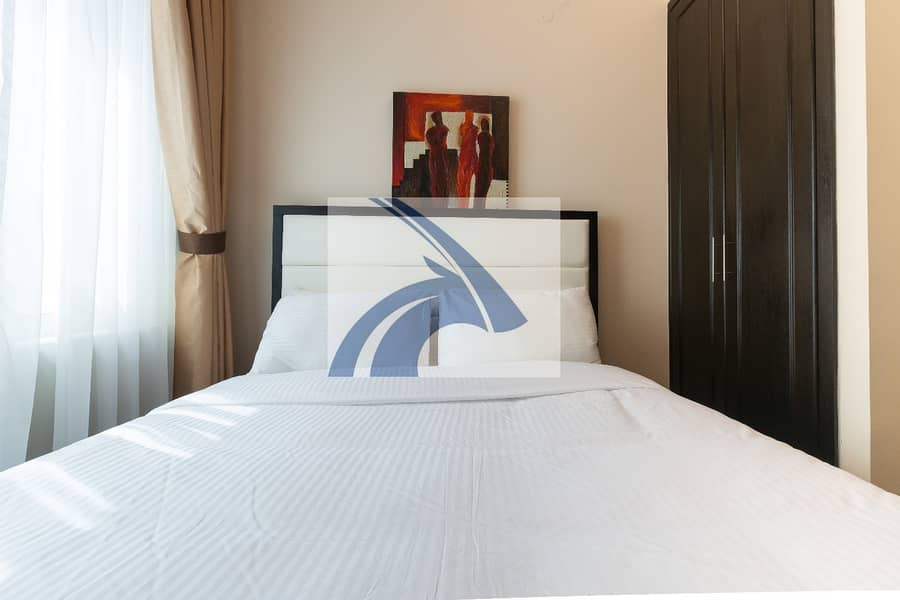 Luxury 1BR Apt | 69K |  *12 cheques | Fully Furnished & Serviced | No Agency Commission | Direct From Owner