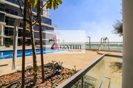 استوديو  للايجار في داماك هيلز (أكويا من داماك)، دبي - L Shape Kitchen | Studio Apt for Rent