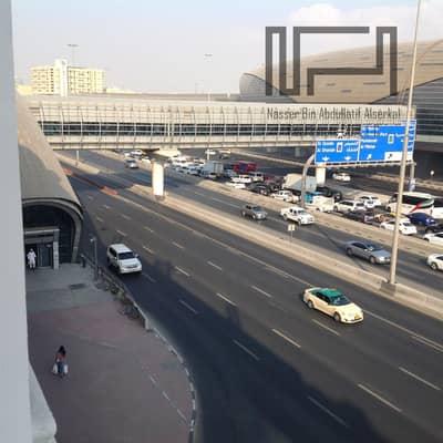 فلیٹ 1 غرفة نوم للايجار في ديرة، دبي - 1Br + Hall  For Rent Located next  to Al Quiyada metro station