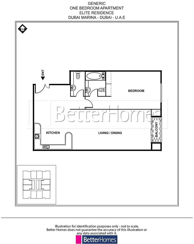 12 Fully Furnished 1 BR | Sea View | Balcony