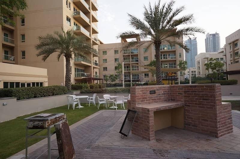 10 Furnished 2BR + Study   Facing Pool in Al Ghozlan
