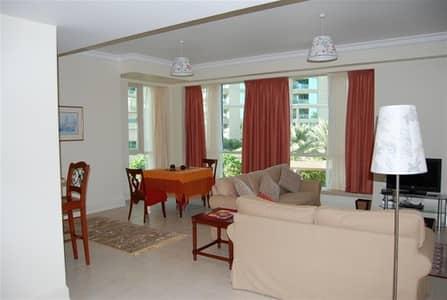 فلیٹ 1 غرفة نوم للايجار في دبي مارينا، دبي - Cosy Fully Furnished Huge 1 Bedroom + Study in Al Mesk - Dubai Marina