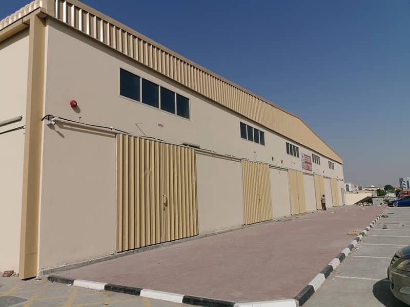 BRAND NEW WAREHOUSES AVAILABLE FOR RENT IN INDUSTRIAL 1 AJMAN
