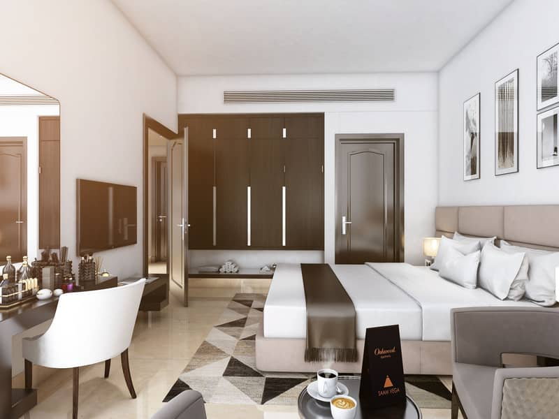 1 BR Hotel Apartment | Prime Location | Premium Amenities