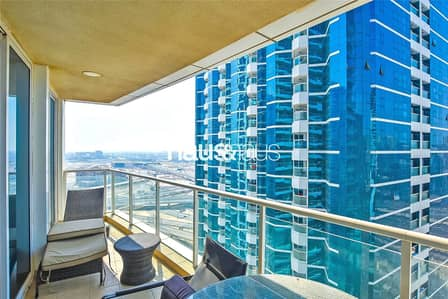 1 Bedroom Apartment for Sale in Jumeirah Lake Towers (JLT), Dubai - Spacious one bed   Vacant   Dubai Skyline View