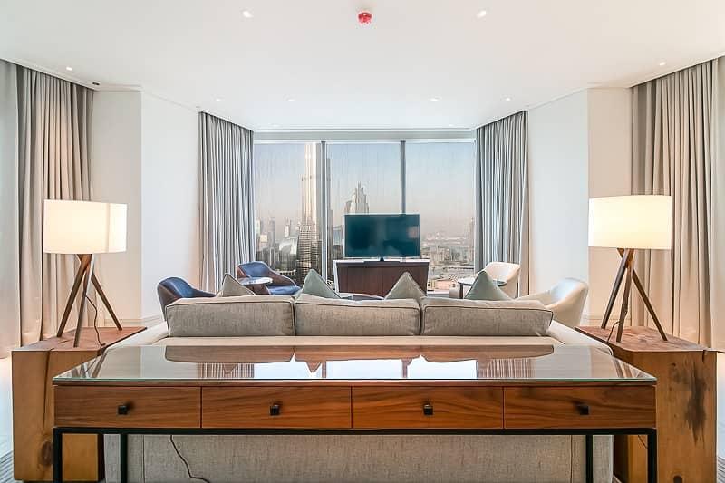 2 High Floor 3Bedroom Plus Maid's Burj View
