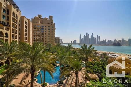 2 Bedroom Apartment for Rent in Palm Jumeirah, Dubai - 2BalconiesFull Marina View