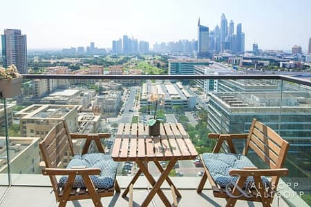 2 Bedroom Flat for Rent in The Greens, Dubai - 2 Bedroom| Large Balcony | Part furnished