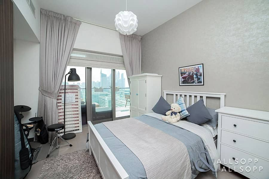 10 2 Bedroom| Large Balcony | Part furnished