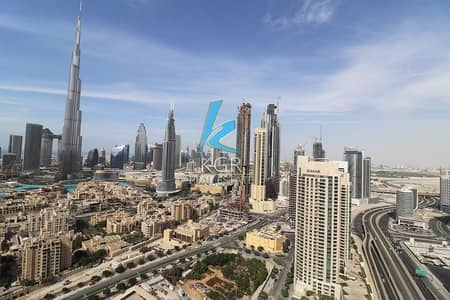 1 Bedroom Flat for Sale in Downtown Dubai, Dubai - Motivated Seller, Burj Khalifa  and Canal View I Huge Furnished Apt