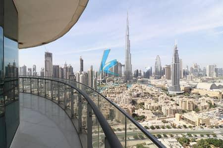 2 Bedroom Apartment for Rent in Downtown Dubai, Dubai - Burj Khalifa View