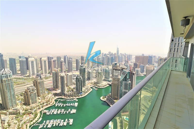 2 Full Marina View 2 Beds Fendi Furnished High Floor