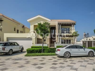 4 Bedroom Villa for Rent in Mohammad Bin Rashid City, Dubai - 4 BR Mediterranean Villa for Rent in District One