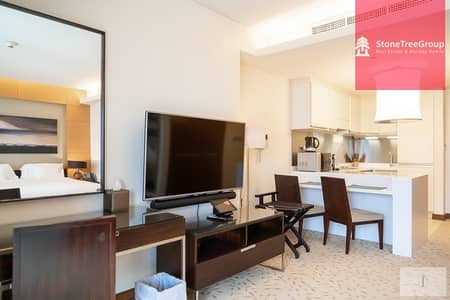 Studio for Rent in Downtown Dubai, Dubai - Available Now! Luxury Studio in The Address Dubai Mall