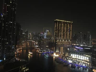 2 Bedroom Apartment for Sale in Dubai Marina, Dubai - Full Marina View Furnished 2BR  with Balcony