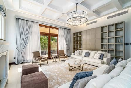 فیلا 6 غرفة نوم للبيع في البراري، دبي - Uniquely Extended|C Type on Huge Corner Plot|