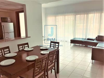 2 Bedroom Flat for Rent in The Greens, Dubai - Well-maintained | Fully Furnished 2BR + Study