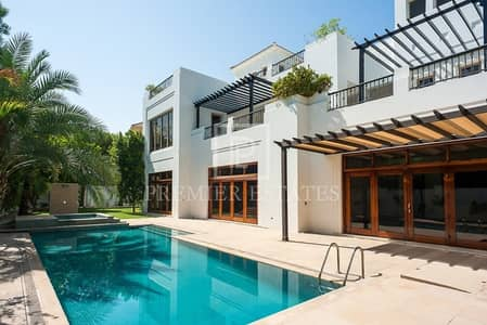 فیلا 6 غرفة نوم للايجار في البراري، دبي - Immaculate unique A type villa|Excellent condition