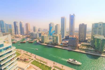 شقة 2 غرفة نوم للايجار في دبي مارينا، دبي - Amazing 2 Bedroom Duplex in Dorra Bay Marina.