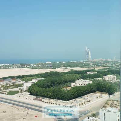 فلیٹ 1 غرفة نوم للايجار في الصفوح، دبي - High floor Full Sea & Buj Al Arab View 1Bedroom For Rent