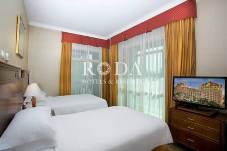 2 Bedroom Hotel Apartment for Rent in Downtown Dubai, Dubai - Burj Khalifa View | Limited Availability  | Free WiFi