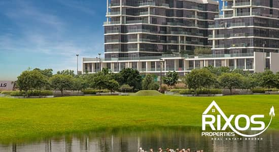 2 Bedroom Flat for Sale in DAMAC Hills (Akoya by DAMAC), Dubai - Cheapest 2 Bed | TownHome - Golf Facing | Ready Now
