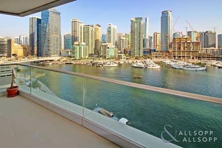 شقة 3 غرفة نوم للبيع في دبي مارينا، دبي - Full Marina View | Vacant | 2