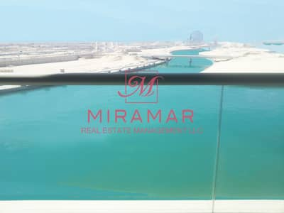 2 Bedroom Apartment for Rent in Al Raha Beach, Abu Dhabi - LARGE 2+MAID CITY / SEA VIEW BRAND NEW