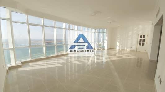 4 Bedroom Apartment for Rent in Corniche Road, Abu Dhabi - Sea View Duplex 4 bhk on Corniche Bay (negotiable)
