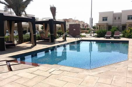 Vacant Pool View Terraced 2BR in Al Ghadeer