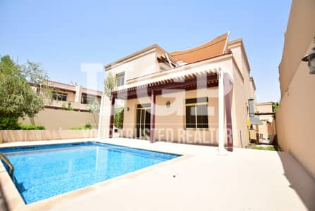 5 Bedroom Villa for Sale in Al Raha Golf Gardens, Abu Dhabi - Good Offer! Villa with Maids rm. and Pool