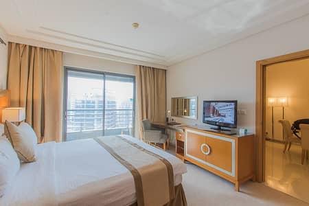 شقة فندقية 1 غرفة نوم للايجار في برشا هايتس (تيكوم)، دبي - شقة فندقية في جراند بل فيو برشا هايتس (تيكوم) 1 غرف 85000 درهم - 4344323