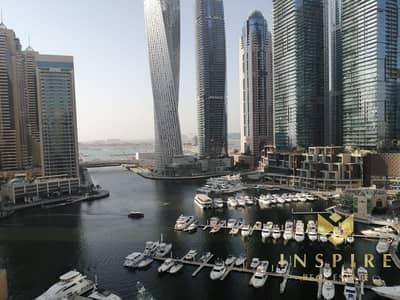 2 Bedroom Apartment for Rent in Dubai Marina, Dubai - 2BR  | Full Marina and Sea View | High Floor