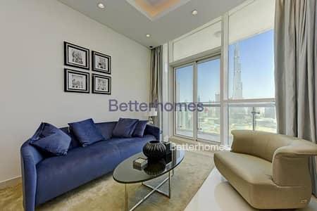 2 Bedroom Flat for Sale in Downtown Dubai, Dubai - New|Fendi|Vacant|Full Burj View|Below OP