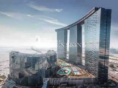 1 Bedroom Flat for Sale in Al Reem Island, Abu Dhabi - Good Investment in Gate Towers High Level 1BR