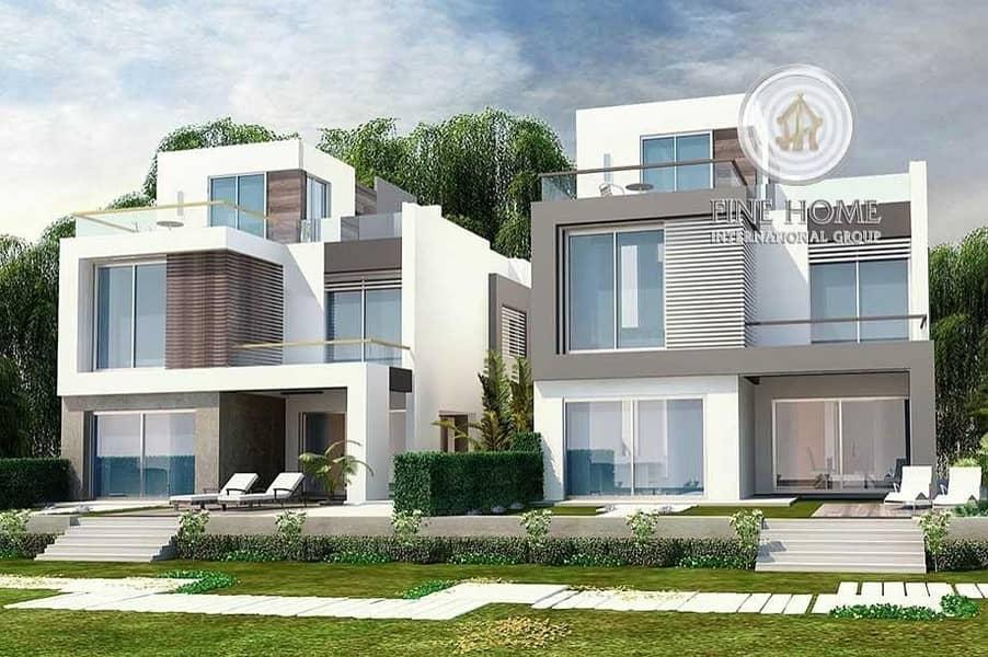High Income 2 Villas Compound in Muroor