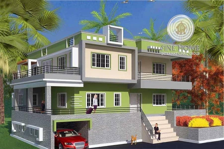 Corner Villa in Al Muroor Area . Abu Dhbai