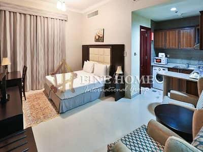Studio for Rent in Al Muroor, Abu Dhabi - Furnished &nice Studio Monthly payment