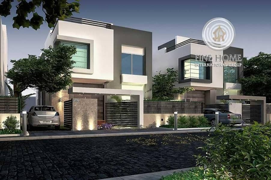 2 Villas compound in Al Muroor . Abu Dhabi