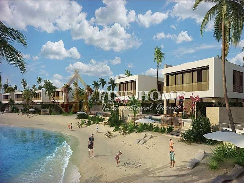 2 Style sea view villa in Hidd Al Saadiyat