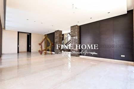 6 Bedroom Villa for Sale in Saadiyat Island, Abu Dhabi - Brand New 6 BR. Villa in Hidd Al Saadiyat