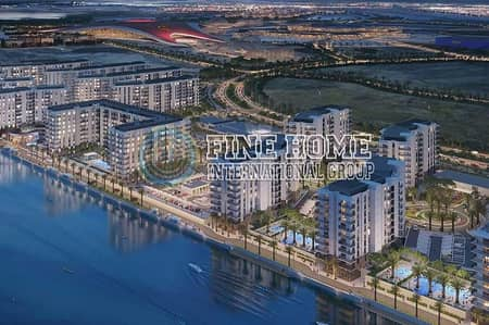 3 Bedroom Apartment for Sale in Yas Island, Abu Dhabi - Off Plan Big 3BR apartment in Waters Edge