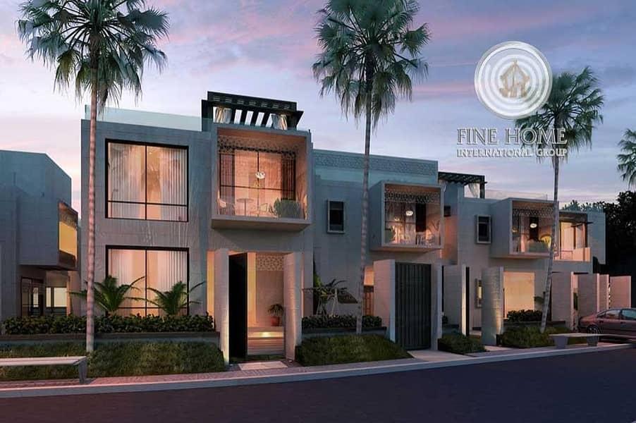 Style 2 Villas Compound in Al Muroor Area