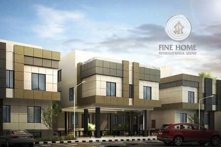 6 Bedroom Villa for Sale in Khalifa City A, Abu Dhabi - Modern 3 villas Compound in Khalifa City