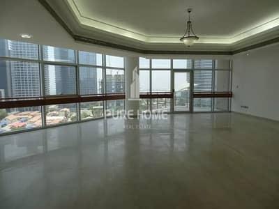 شقة 4 غرفة نوم للايجار في شارع النصر، أبوظبي - Beautiful Neat and Clean 4 Bedrooms with Maid's Room and Huge Living Room