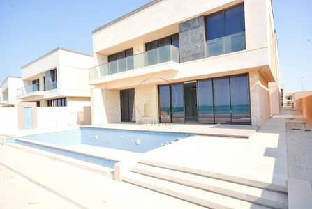 7 Bedroom Villa for Rent in Saadiyat Island, Abu Dhabi - Luxury Villa - 7-BR - Private pool - Sea View