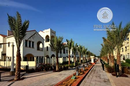 5 Bedroom Villa for Sale in Al Salam Street, Abu Dhabi - Amazing 5BR. Townhouse in Bloom Gardens.